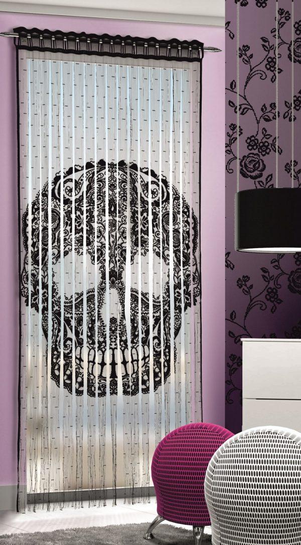 Perdea Skull pentru Living Room L90cm x H245cm