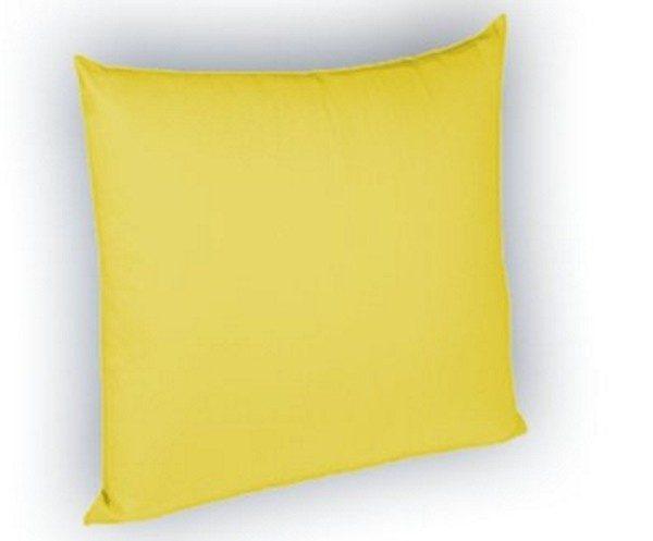 Perna decorativa galben 40×40 cm