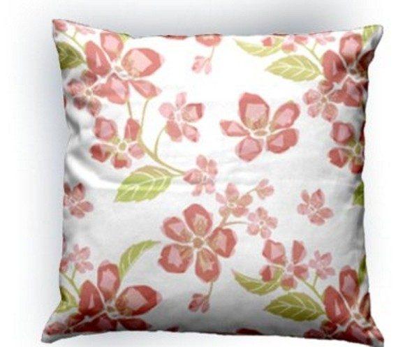 Perna Cherry Blows rosu-verde 50×50 cm